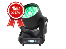 7pcs 40W 4in1 LED Moving Head Beam Zoom Wash Light