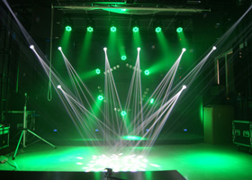 Forelite 200W Beam Sharpy Has Been Used in the Show Room of Shengshigaoge Media Co., Ltd