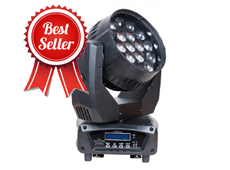 Aura 19pcs 4in1 LED Moving Head Zoom Wash Light
