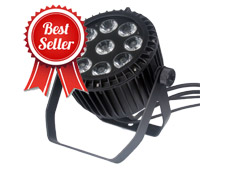 9pcs 18W 6in1 Outdoor LED Par Light