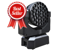 36pcs 3W Mac LED Moving Head Beam Wash Light