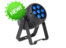 7pcs 12W 4in1 RGBW Outdoor LED Par Light