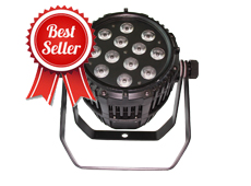 12pcs 12W RGBW 4in1 Outdoor LED Par Light