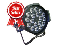 18pcs 18W RGBWAUV 6in1 Indoor LED Par Light