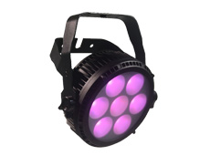 7pcs 25W RGBWA 5in1 LED Outdoor Par Light