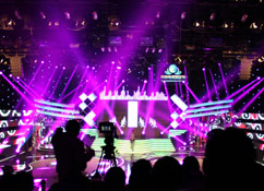 Jinan Television Audience Festival has Used 48pcs Beam Lighting 200W From Forelite Lighting Technology